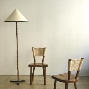 GALERIE DESPREZ BREHERET JACQUES ADNET FLOOR LAMP