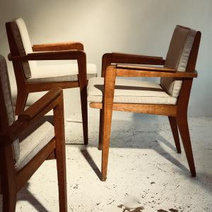 PIERRE GUAIRCHE CHAIRS DESPREZ BREHERET