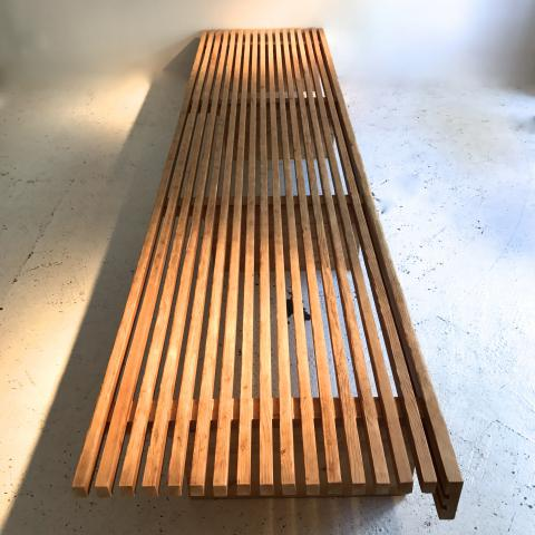 CHARLOTTE PERRIAND LES ARCS BENCH BANQUETTE