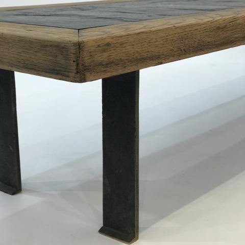 table ardoise 180 | HELENE BREHERET / BENJAMIN DESPREZ ...