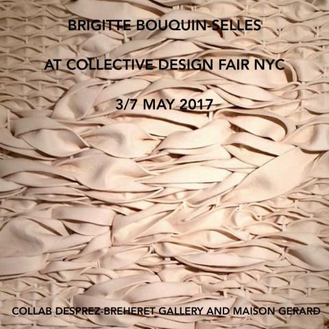 BRIGITTE BOUQUIN SELLES COLLECTIVE DESIGN FAIR 2017
